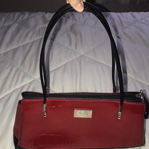 Beijo The UPTOWN Lipstick Red Purse Handbag